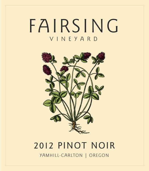 Fairsing Vineyard 2012 Pinot Noir