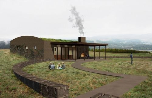 Fairsing Vineyard Tasting Room rendering 2015