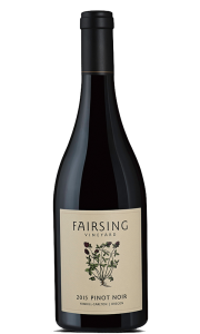 The 2015 Fairsing Vineyard Pinot noir