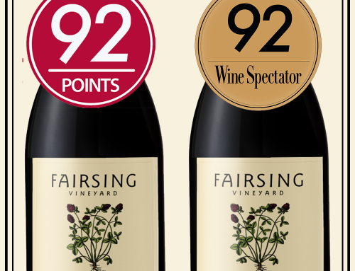 92 Point Awarded to Both 2015 Pinot Noir Sullivan and Dardis