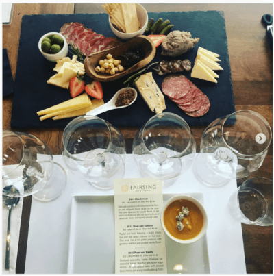 Elevated Seated Tasting Experiences at Fairsing Vineyard