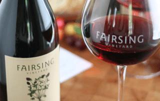2016 Pinot Noir Fairsing Release Saturday, August 18 at Fairsing Vineyard
