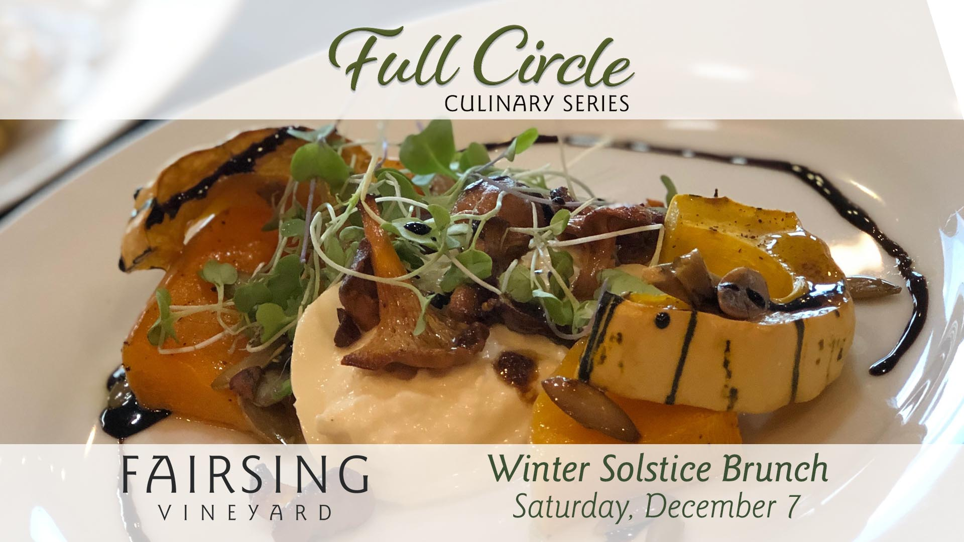 Winter Solstice Brunch @ Fairsing Vineyard