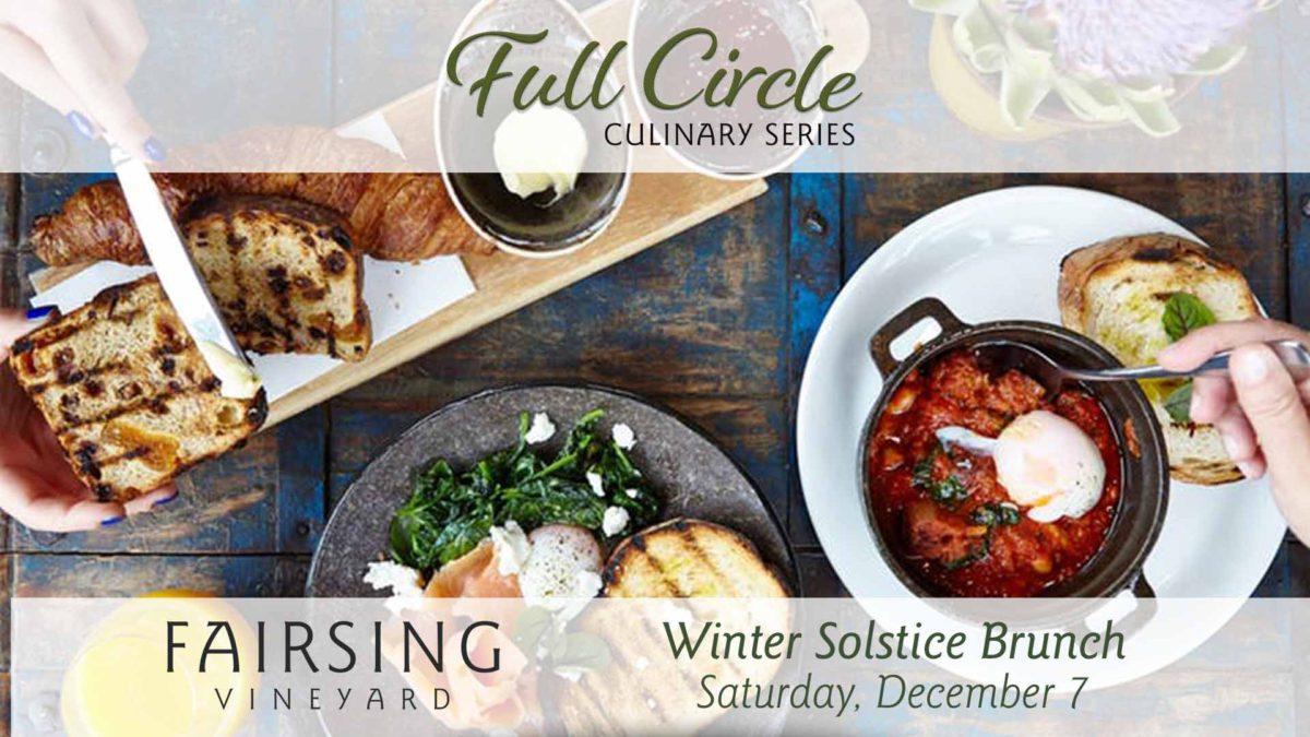 Fairsing Vineyard to host Winter Solstice Brunch Saturday, December 7