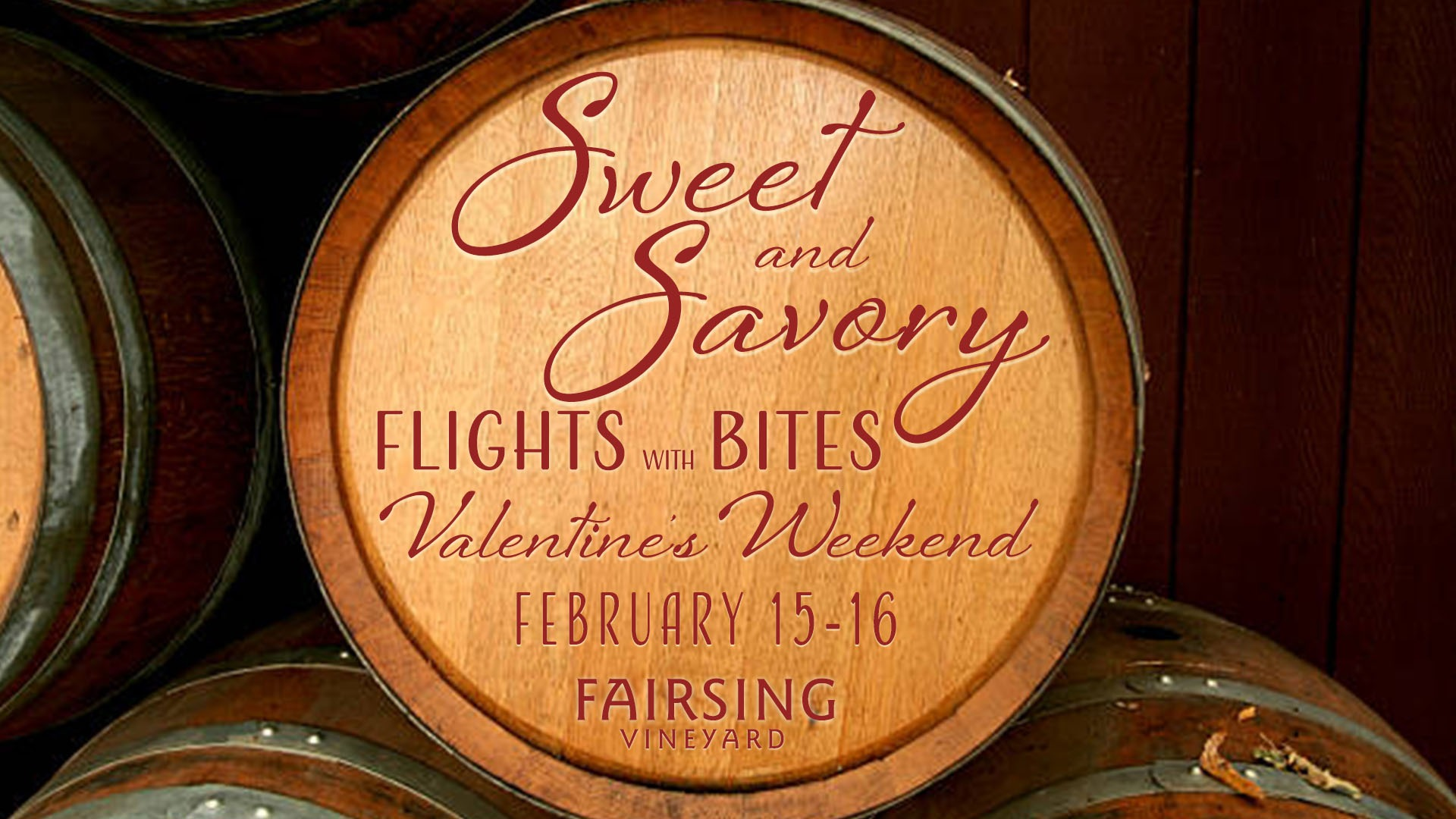 Sweet and Savory Weekend @ Fairsing Vineyard