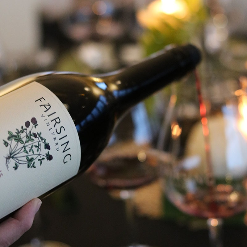 The 2020 Fairsing Vineyard spring release wines