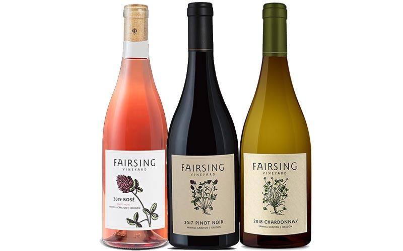 The 2020 Estate Ensemble from Fairsing Vineyard